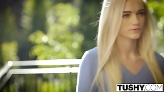 TUSHY very first anal For wonderful blonde Alex Grey