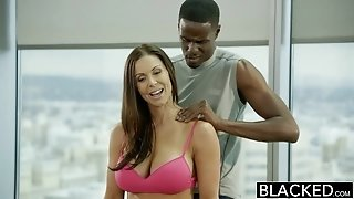EbonyED fitness honey Kendra passion loves ginormous ebony jizz-shotgun