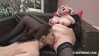 Sila and Lyen Parker - elderly youthful lezzy enjoy