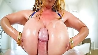 Giant jug mom Kianna Dior Gets enormous jug poke