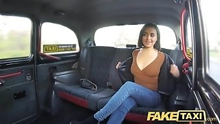 Fake taxi spurting shrieking torrid vagina taxi orgasms