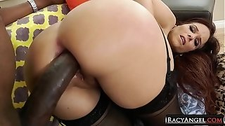 Thick ebony Cosk Anal-yzing chesty mummies two Cherie DeVille, Leya Falcon
