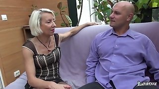 La Cochonne - French Mature whore Gets Her backside romped