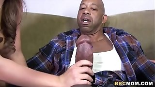 Wondrous mother Phyllisha Anne shares big black cock With Haley delicious