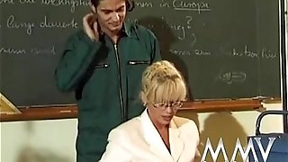 MMV FILMS Kelly Trump is my anal invasion college tutor