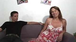 French Mature xxx audition