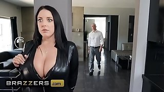 Fat cabooses Like It fat - (Angela milky, Zach Wild) - Busting On The Burglar - Brazzers