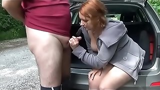 Caught at Public plumb a admirer which finishes in internal cumshot