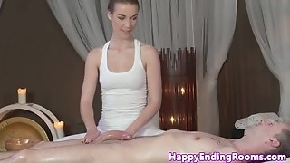 European softcore masseuse gives full treatment