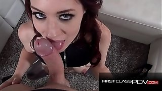 Buxom ginger-haired predominated and pulverized (Jessica Ryan) - FirstClassPOV