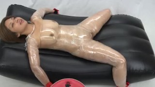 Cocoasoft chinese restrain bondage Breathplay torment Girl6 milky