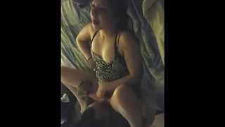 Wifey is not luving her very first cuckolding