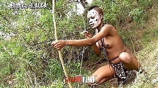 Trailer : thin black Hunter in her porno fuck-a-thon safari