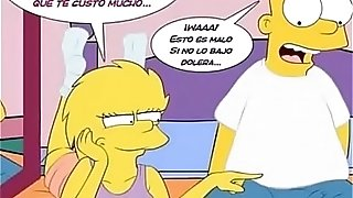 The Simpsons porno comic Marge Simpsons Bart Lisa Homer
