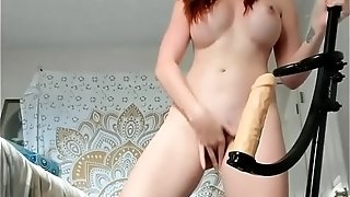 Unshaven pounds Herself With hookup fucktoy - ANGELSLUTS.COM