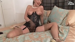 Nylon pantyhose mommy I'd Like To penetrate