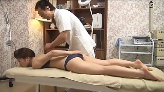 Gentle wife Gets perverted massage (Censored JAV)