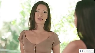 Stepmom India Summer having lezzie romp with Karlee Grey and Kalina Ryu - Mommys damsel