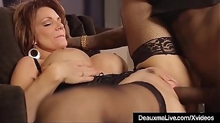 Steaming Mature mummy Deauxma Gets screwed By A bbc!